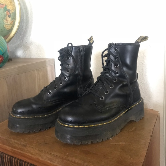 55cf2b62bc2 Dr. Martens Shoes - Doc Marten Platform Jadon Boots